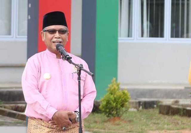 Apel Perdana Pjs Bupati Kepulauan Anambas Minta ASN Laksanakan 7 Keteladanan Pegawai