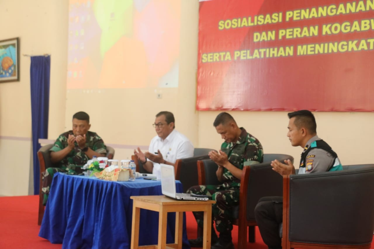 Pemerintah Gencarkan Sosialisasi Penanganan Corona di Natuna