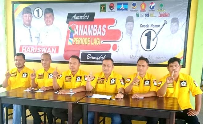 DPD Golkar Anambas Siap Menangkan HARIS-WAN, Kepala Daerah 2021-2024