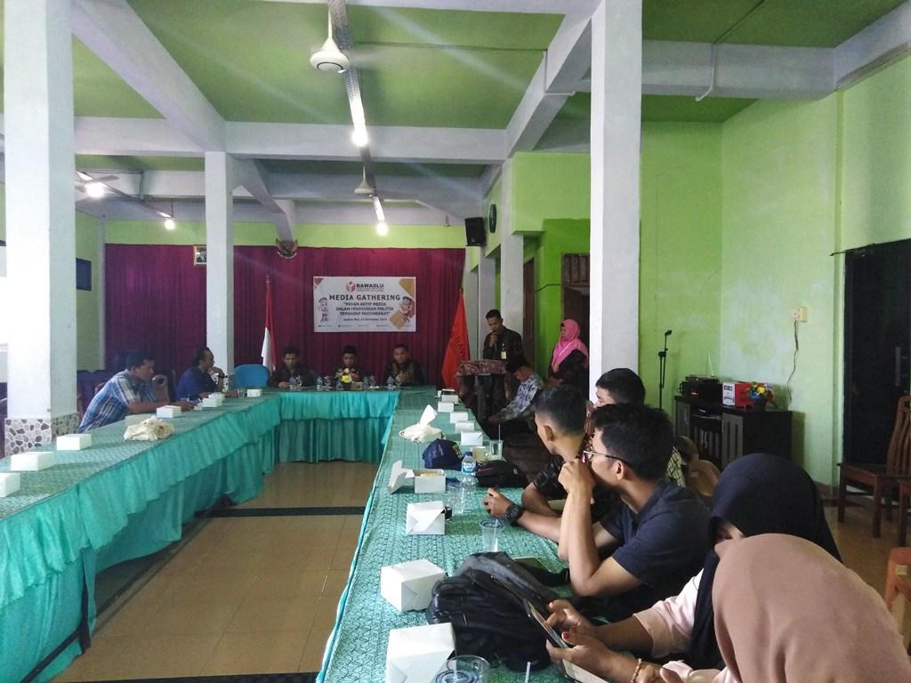 Bawaslu Anambas Gandeng Media Awasi Pelaksanaan Pilkada