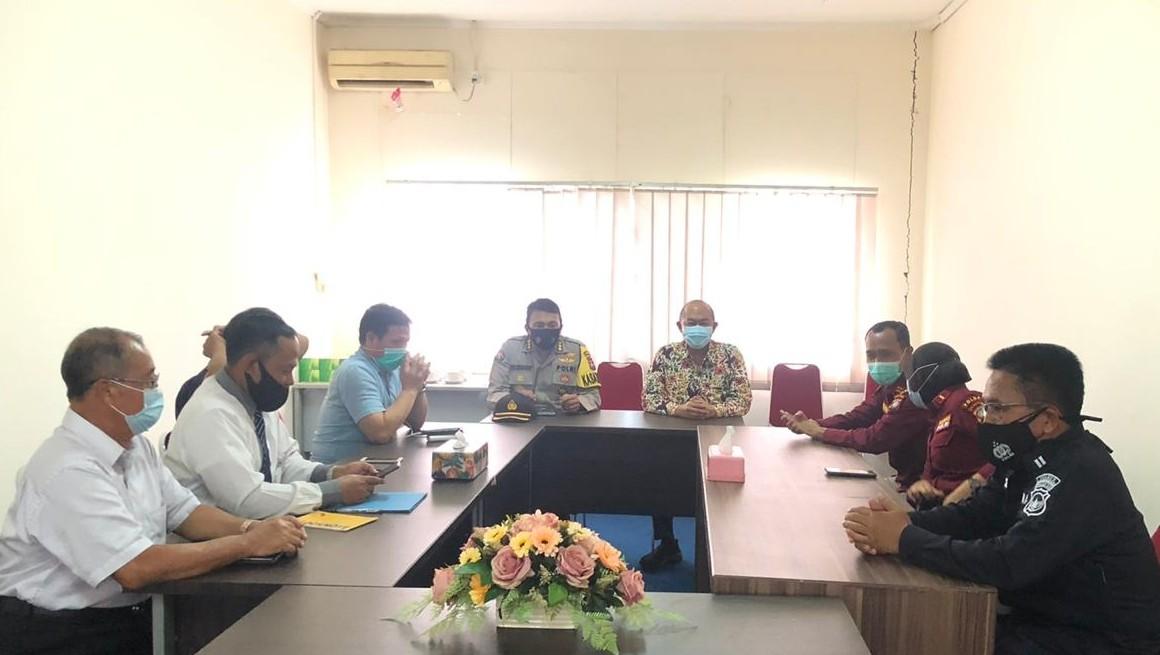 Polda Kepri Kunjungi KIP di Tanjungpinang, Bahas Keterbukaan Informasi Publik