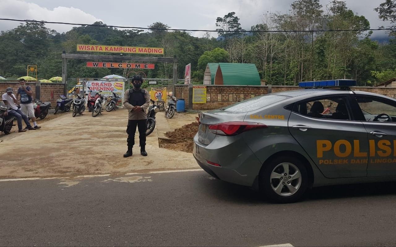 Polsek Daik Lingga Tingkatan Patroli di Wilayah Pariwisata