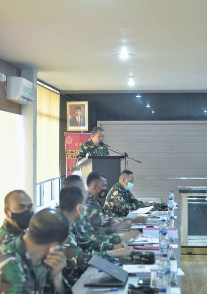 Kogabwilhan I Buka Paparan Rencana Komando Utama Operasi