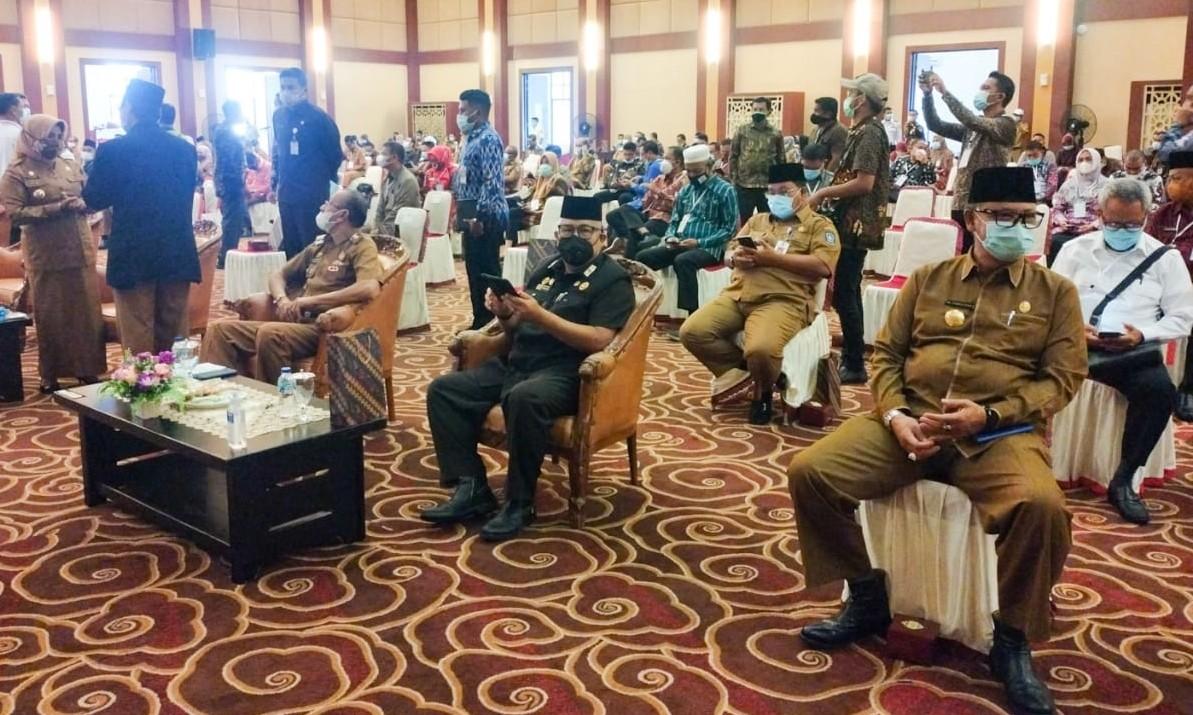 Pjs Walikota Batam Hadiri Rakor Kesbangpol, Bahas Protkes dalam Pelaksanaan Pilkada