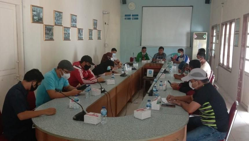 Masa Kepengurusan Berakhir, KONI Anambas Lakukan Rapat Persiapan Musorkab III