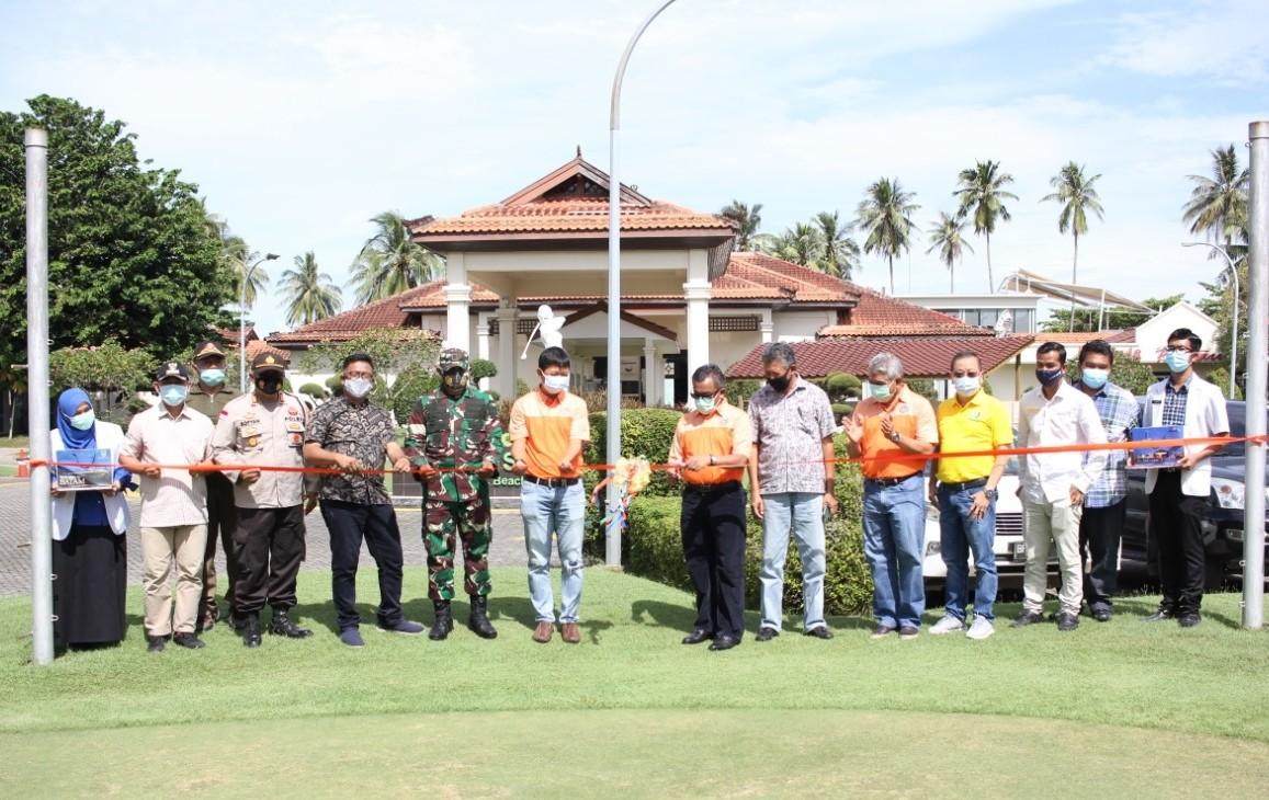 Pemko Batam Resmikan Dua Check Point di Percontohan Pariwisata Nongsa, Sambut Wisatawan