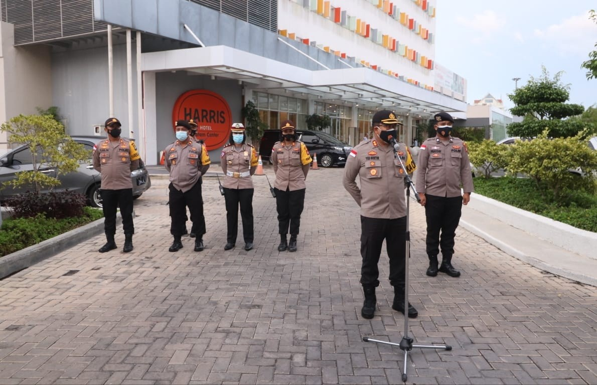 Polresta Barelang Lakukan Pengamanan Debat Pilkada