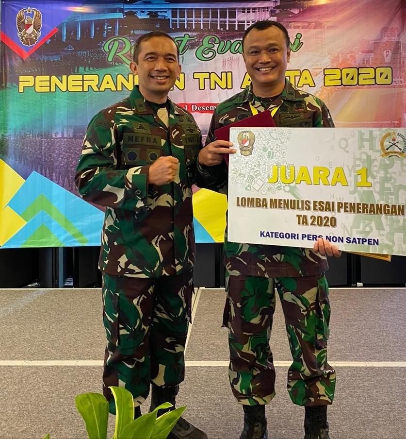 Kadispenad Pimpin Rapat Evaluasi Penerangan TNI AD