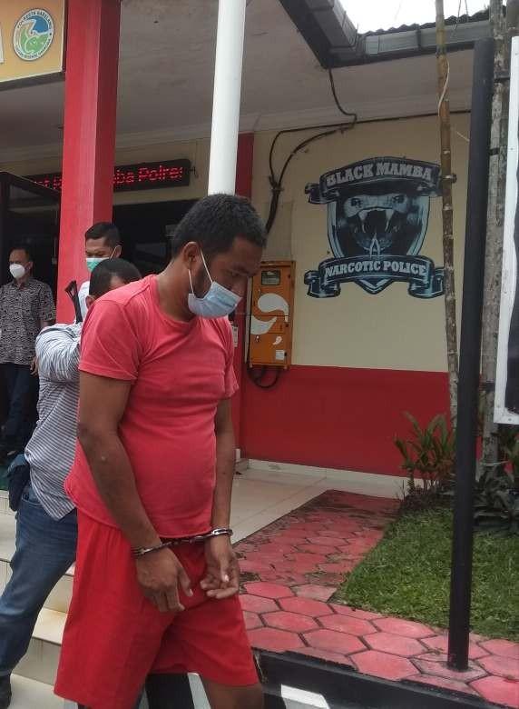Bawa Sabu 7 Kg, WNA Malaysia Dibekuk Sat Narkoba Polresta Barelang