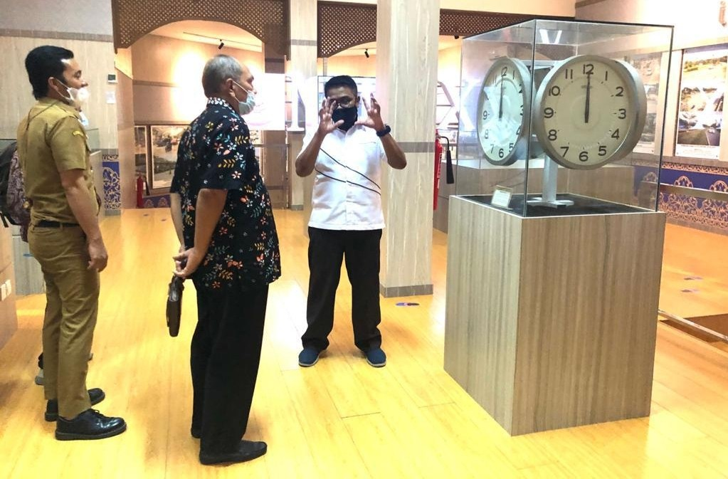Dirjen Kemendikbud Gelar Standardisasi Museum Raja Ali Haji