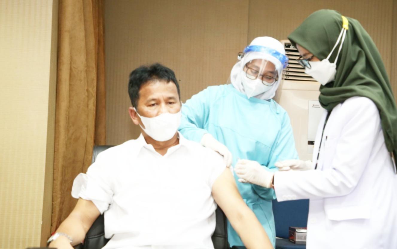 Kepala BP Batam dapat Vaksinasi Covid-19 Tahap Kedua