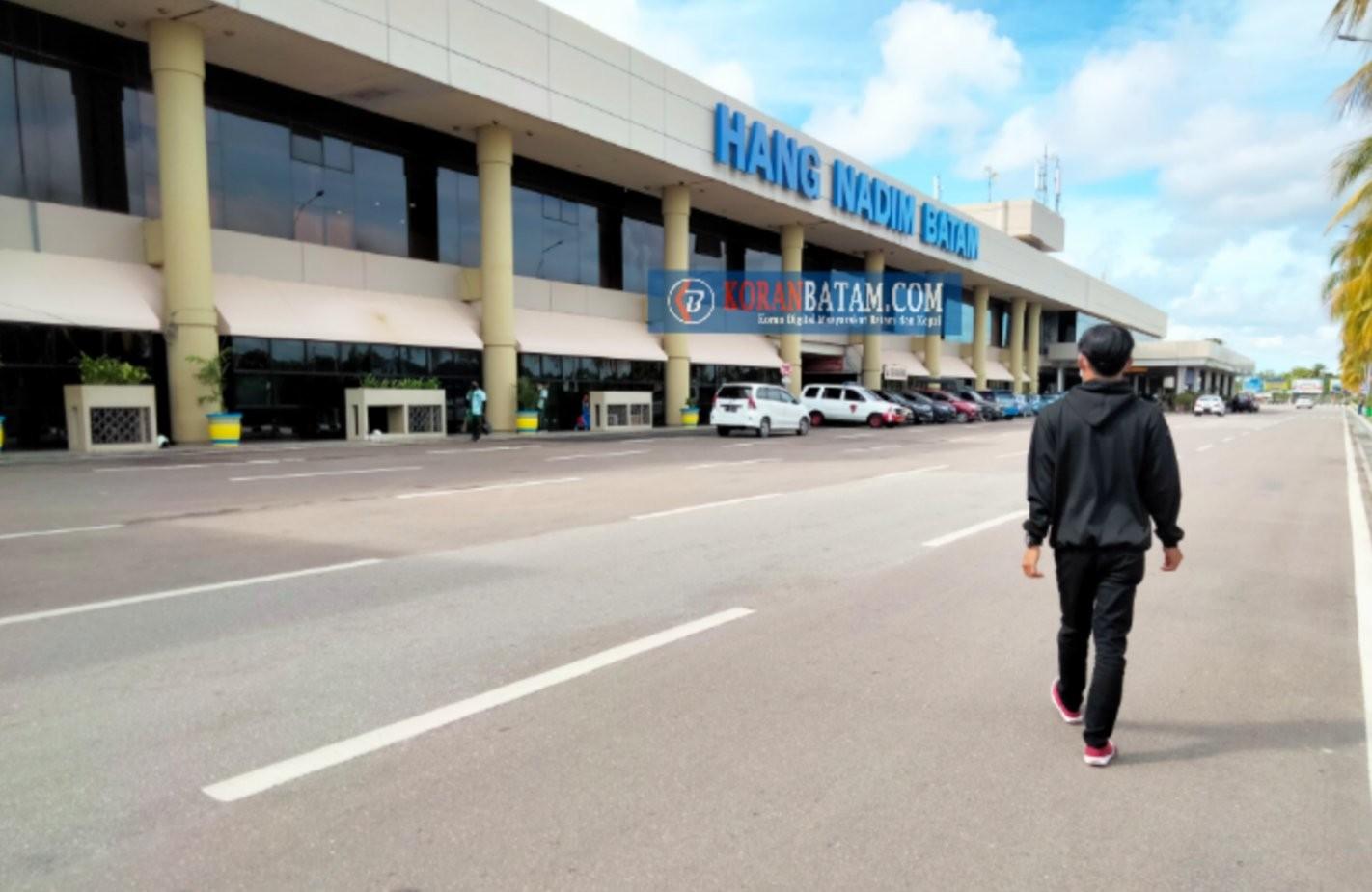 Intensitas Lalu Lintas Angkutan Udara Bandara Hang Nadim Batam Meningkat