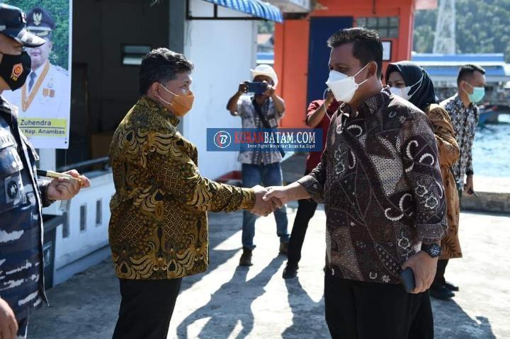 Gubernur Kepri Buat Terobosan Cetak Administrasi Lewat Online Pakai Barcode