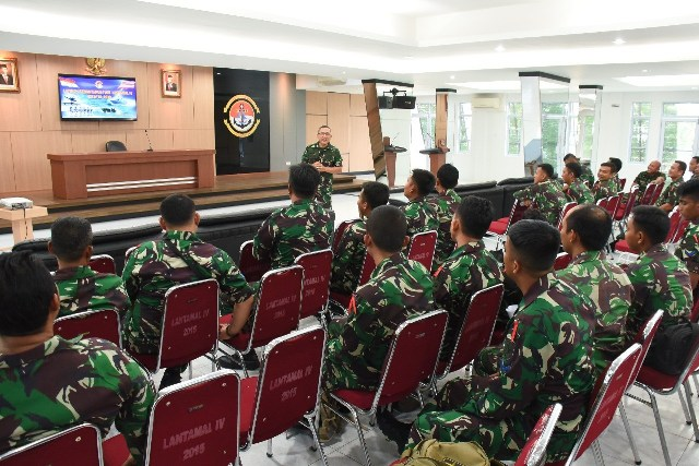 Latihan Pemantapan F1QR Lantamal IV TW IV TA 2019 Resmi Dimulai