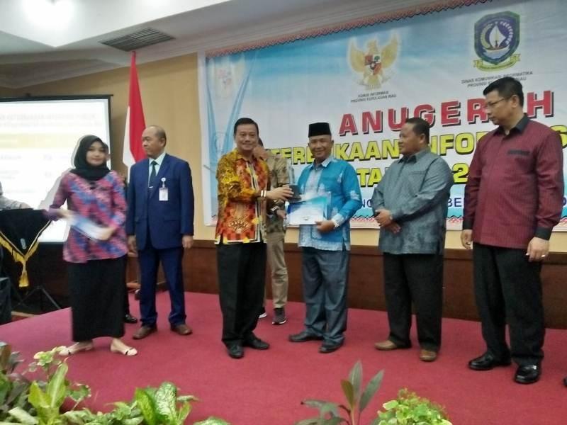 Anambas Raih Juara 2 Menuju Informatif Setelah Kota Batam