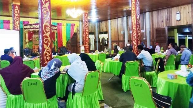Lestarikan Budaya Melayu, Disparbud Lingga Diskusi dengan Tokoh Masyarakat