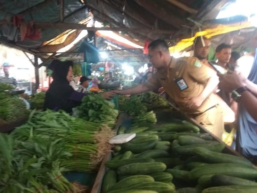 Tim Satgas Pangan Sidak Harga Bahan Pokok Jelang Akhir Tahun
