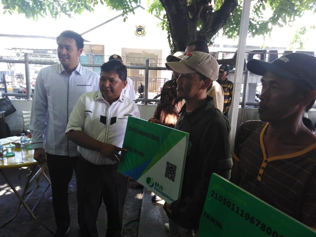 Plh Bupati Anambas Beberkan Manfaat BPJS Ketenagakerjaan kepada Pekerja Bongkar Muat